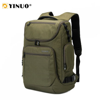YINUO Men Travel Backpack Multifunction 15inch Laptop Backpack Waterproof High Capacity Male Casual Travel Bag Mochila