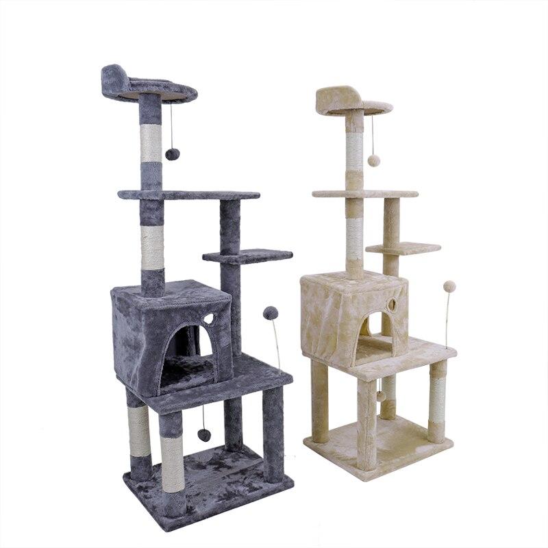 ЕС внутренний Delivey игрушка кошка мебель поцарапанные Деревянные Дерево кошка игрушка-попрыгунчик кошка дом дерево дешевая кошка башня rascador...