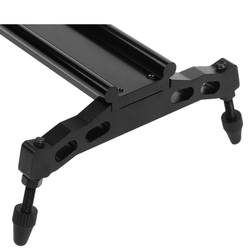 Andoer 80cm Rail Stabilizer Video Track Slider Dolly Track Aluminum Alloy for Canon Nikon Sony Cameras Camcorders