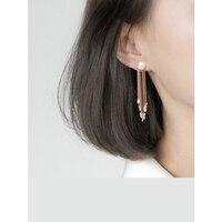 Fashion Design pearl Earrings for Women silver gold Water Drop Earrings Simple Metal Ear Jewelry Tassels earings fashion jewelry