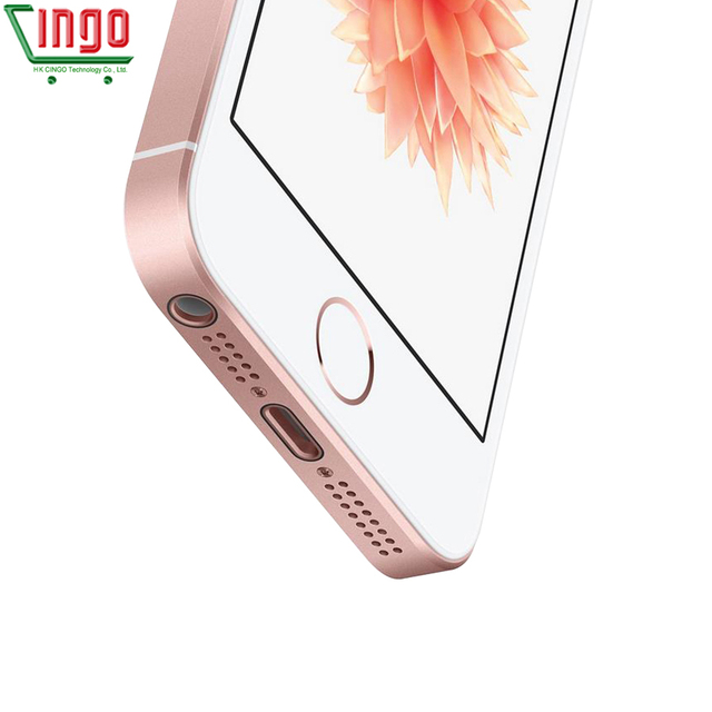 Apple iPhone SE Dual Core Cell Phones 12MP iOS Fingerprint Touch ID  2GB RAM 16/64GB ROM 4G LTE Refurbished iPhone se 3