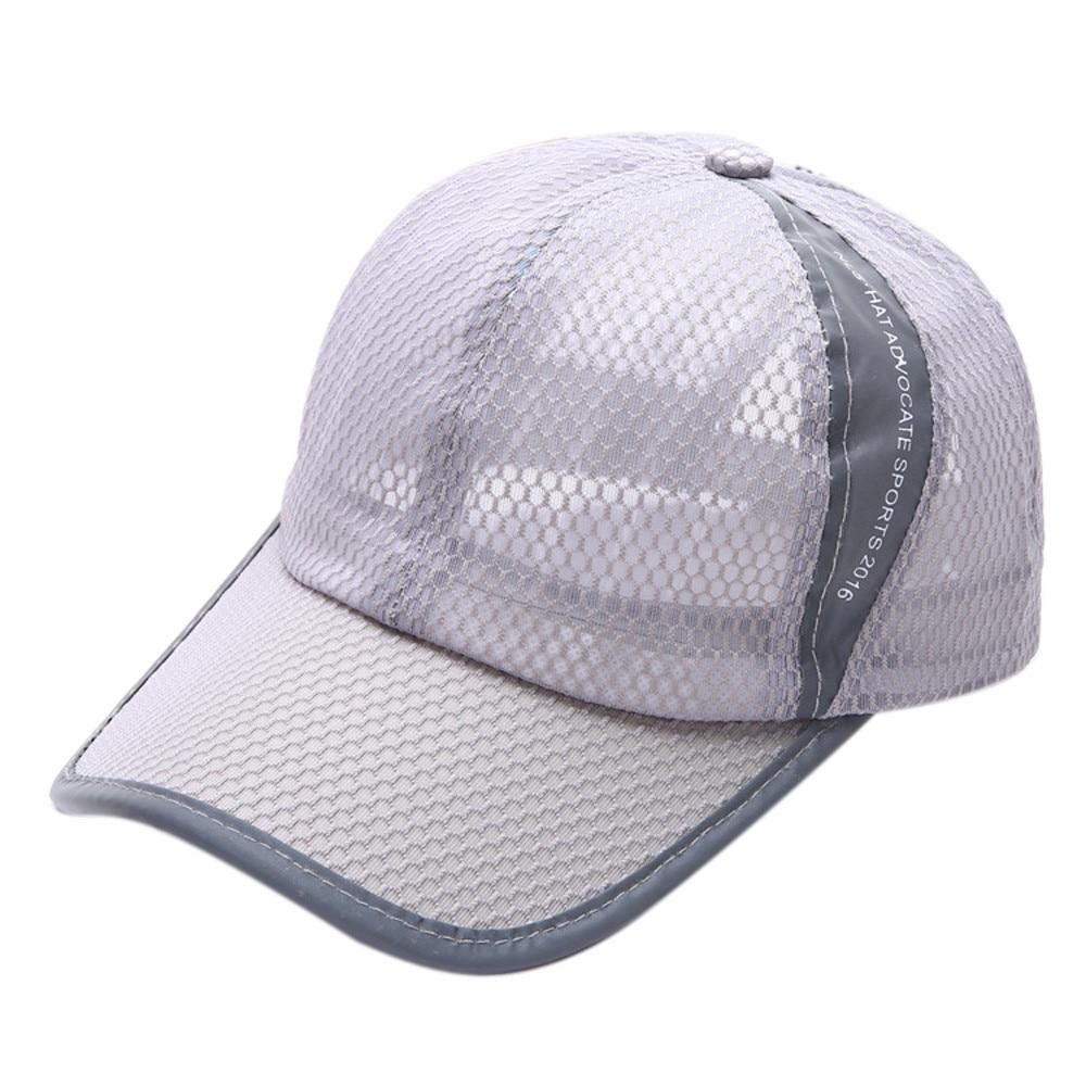 Wanita Snapback Baseball Caps Gadis Topi Jala Musim Panas Mesh Aeproductgetsubject