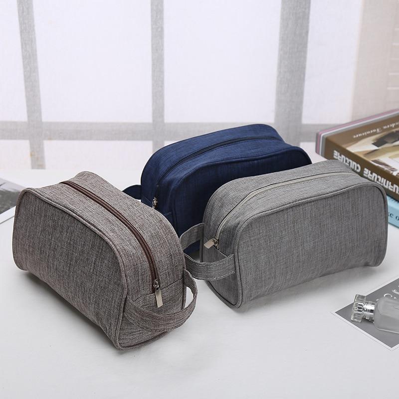 Women Men Waterproof Makeup Bag Travel Beauty Cosmetic Bag Organizer Case Necessaries Make Up Toiletry Bag Neceser Mujer