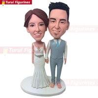 Custom Bobblehead Couple Personalized Wedding Cake Topper Custom Bobble Head Cake Topper Wedding Bobblehead Gift Custom Wedding