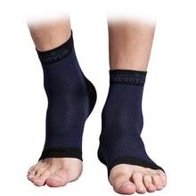 1 pair Ankle Guard Compression Ankle Brace Support Sleeve Foot Plantar Fasciitis Achilles Tendon Heel Spurs Protector Enkelbrace