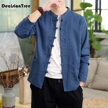2020 traditional chinese blouse traditional chinese clothing for men tang suit oriental mens clothing traditional chinese