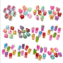 50Pcs Mixed Cute Cat Candy Resin Cabochon Flatback Decoration Crafts Embellishments For Scrapbooking Diy Accessories