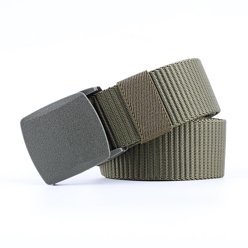 For Men Fashionable Elastic Knitted   Belt   Military Uniforms Tactical Pins Buckle   Belts   Canvas Waist Male   Belt   Men's Designer   Belt