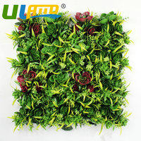 Uland Artificial Boxwood Hedges Panels 3SQM Mat Decorative Ivy Fence Wall Decorative Plastic Plants Screening Garden Ornaments