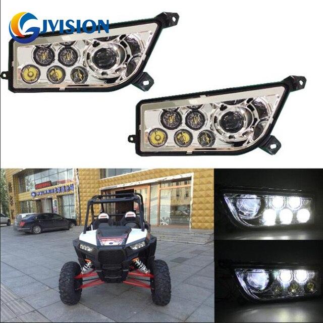 Led Replacement Headlight Bulbs >> Us 141 96 16 Off Chrome Rzr Polaris Led Replacement Headlights Ip67 Waterproof Led Headlamp For Polaris Razor 1000 In Car Headlight Bulbs Led From