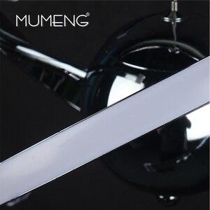 Image 4 - MUMENG LED ペンダントランプロフトハンギング 23 ワット DIY キッチンサスペンションアクリルダイニングルーム玄関光沢 AC85 265V 器具