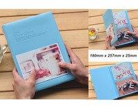 New Arrival 5 Colors 6 Holds 4D Photos PVC Polaroid Photo Album Free Shipping