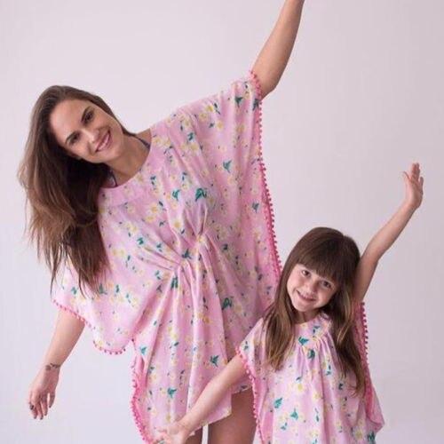 a89122a44c9d5 Hot Summer Kids Baby Girls Dress Summer Beach Swimsuit Cover Up Solid Flower  Fringe Dresses Beachwear