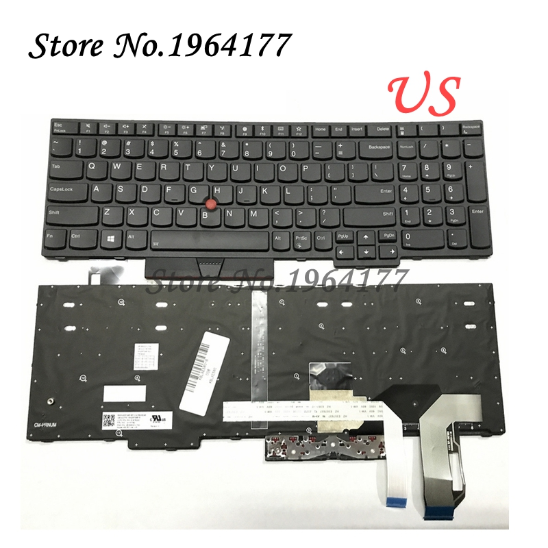30162622ed7 NEW English US backlit Keyboard for Lenovo FOR Thinkpad FOR IBM E580 L580  E585 keyboard with
