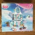 316 Unids/lote Snow Queen Anna Elsa Romántico Castillo de Cenicienta Bloques de Construcción de Ladrillo Juguetes para Niñas Regalo Compatible
