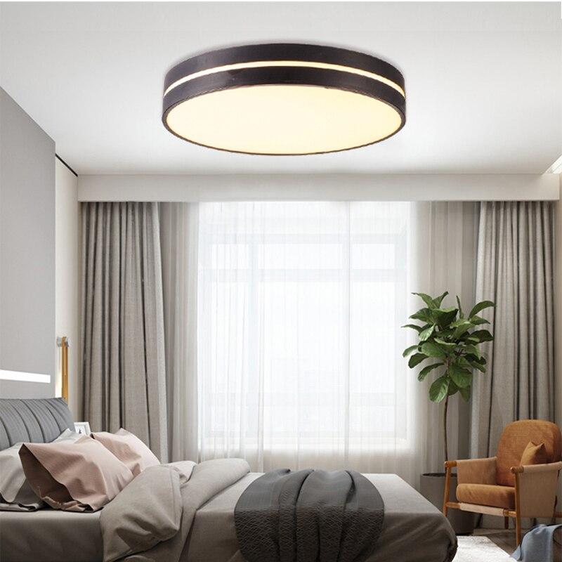 HA CONDOTTO l'illuminazione del soffitto Nordic macarons Dimmerabile luce camera da letto moderna lampada della stanza dei bambini in Acrilico AC90 260 luminaria spedizione gratuita - 4