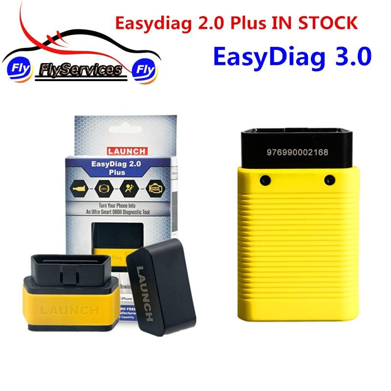 Новый релиз Старт X431 EasyDiag 3,0 плюс диагностический разъем EasyDiag 2,0 плюс для Android/iOS Bluetooth обновление онлайн ...