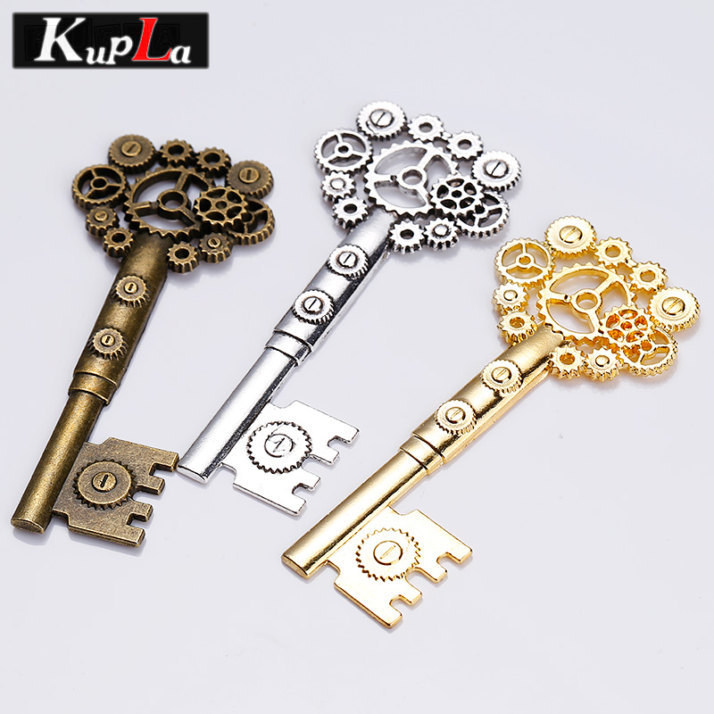 Aliexpress.com : Buy Kupla Metal Big Steampunk Gear Key ...