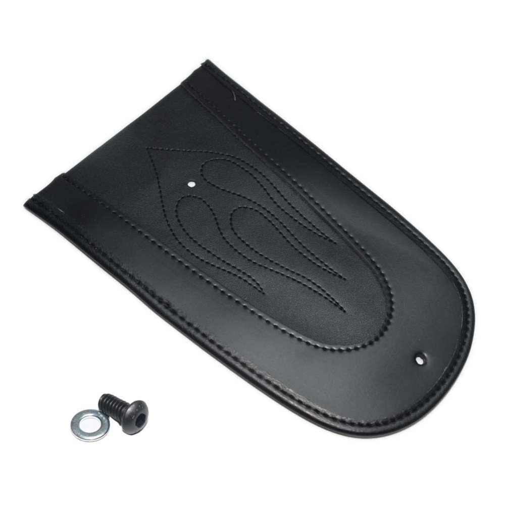 Искусственная кожа черное заднее крыло мотоцикла Solo сиденье для Harley Sportster 883 1200 XL 04-16 48