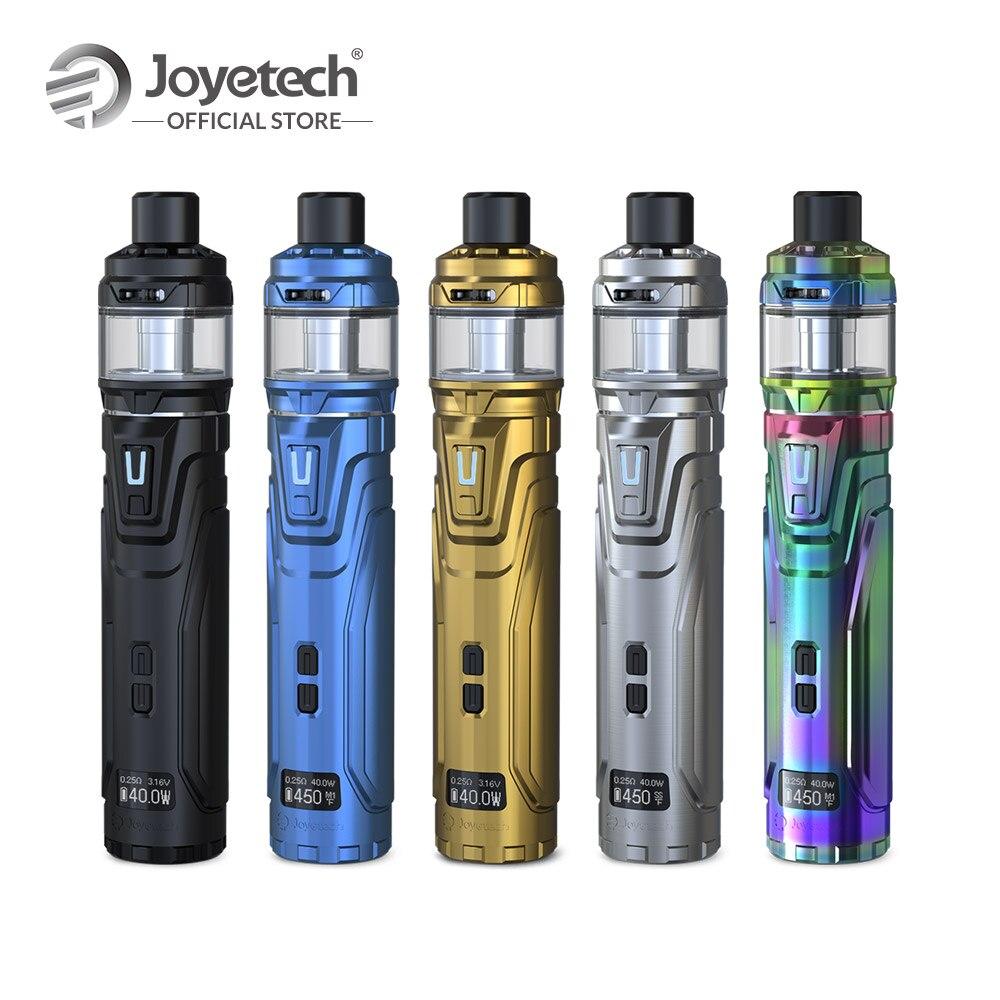 D'origine Joyetech ULTEX T80 avec CUBIS Max Kit Avec NCFilmTM Chauffe-Intuitive écran OLED Bobine-moins Atomiseur E Cigarette