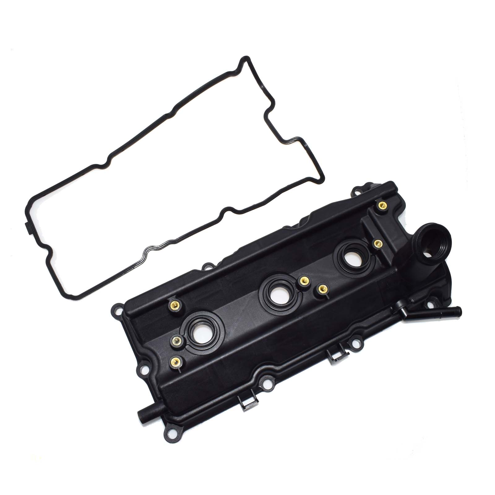 23afd360593 WOLFIGO Driver Left Valve Cover with Gasket 13264 AM610 13264 AM600 For  2003 2006 Nissan Infiniti FX35 G35 M35 350Z-in Valve Covers from  Automobiles ...