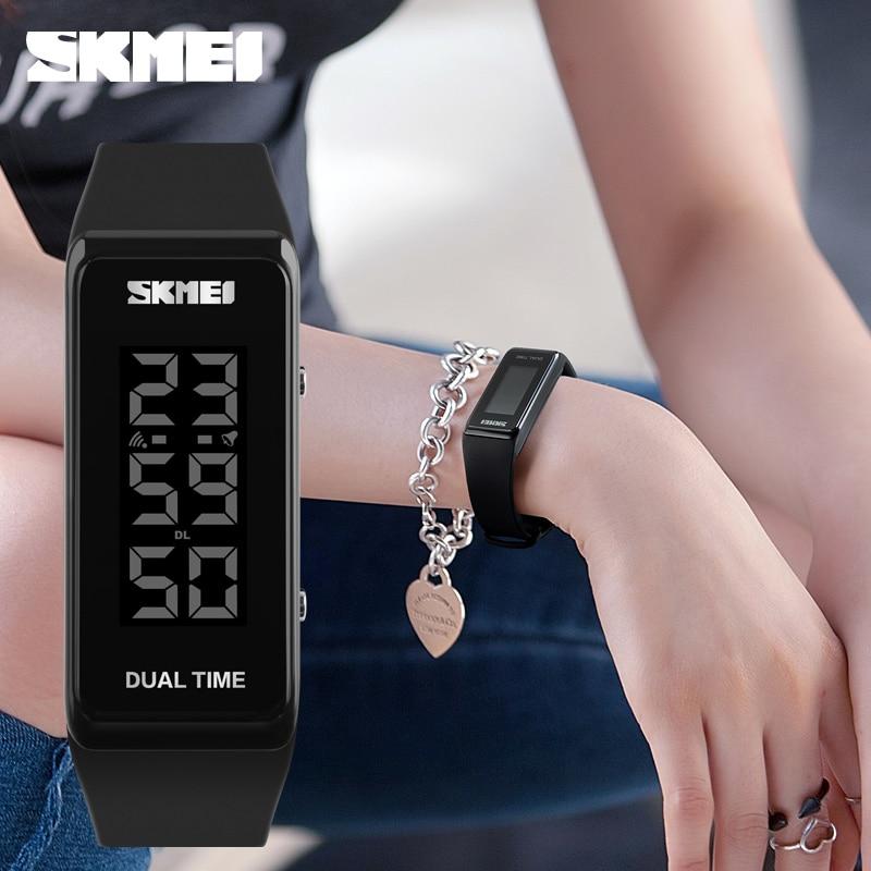 SKMEI Fashion Sports Ժամացույցներ Տղամարդիկ - Կանացի ժամացույցներ - Լուսանկար 3