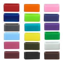 18 Color 13 size Silicone Retainer Buckle Holder Rubber Watchbands Retaining Hoop Replacement Watch Strap Clasp Locker wholesale цена 2017