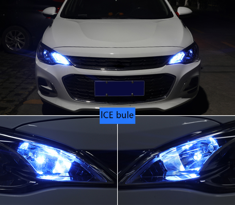 Automobile Outline Lamp T10T15 High Power LED Bulb Ceiling Lamp Reading Lamp Blue White Red Green Yellow Headlamp Wide Lamp