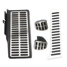 Color My Life Stainless Steel Car Pedal
