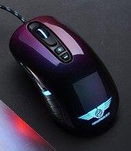 NOWY GX1-Pro 4000 CPI Regulowany Ergonomiczna Mysz Komputerowa Chameleon Symfonia Rzemiosło USB Przewodowy Profesjonalne Gaming Myszy dla LOL