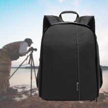 Casos câmera À Prova D' Água mochila de viagem para a Tampa Da Câmera Dslr Sacos Saco DSLR Video Foto Sacos para canon/nikon Tabelas cadernos