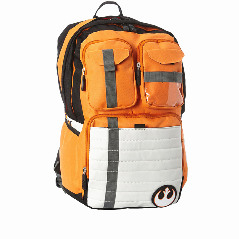 ФОТО 2016 Hot Sale! Star Wars Rebels Logo Alliance Icon Canvas Backpack Teenager School Bags Women bag Unisex Backpack Men Bag