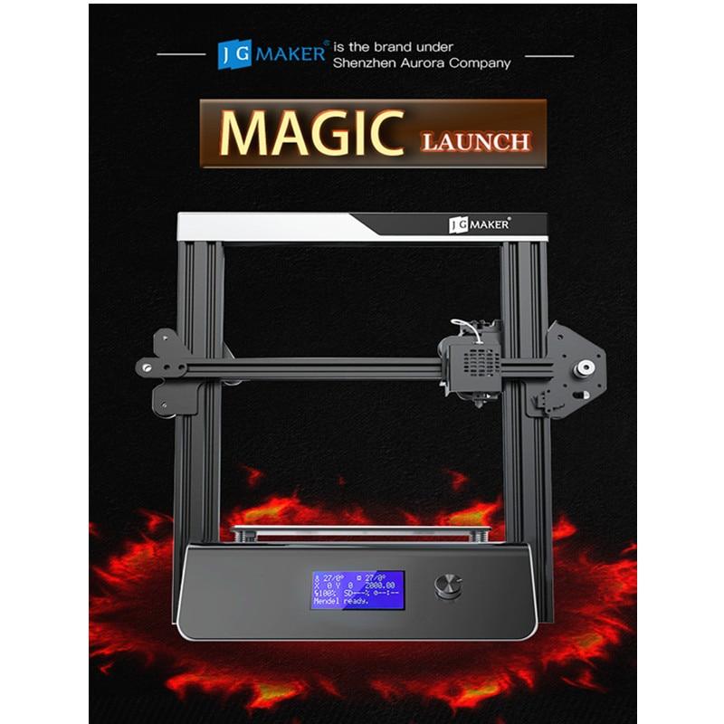 JGAURORA Magic a mis à jour l'affichage d'écran d'affichage à cristaux liquides d'imprimante 3D avec la grande Machine d'impression de zone d'impression