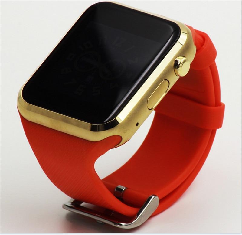 imágenes para Bluetooth smart watch gd19 reloj smartwatch reloj de pulsera reloj deportivo para apple iphone teléfono android cámara pk dz09 samsung gear s2