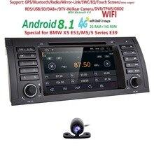 Dvd-плеер gps аудио радио для BMW 5 серии X5 E53 E39 M5 Android 8,1 1024*600 4 ядра 4X1,6 ГГц Процессор 2 GB/16 GB Flash стерео