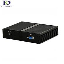 Fanless Mini Pc Intel J1900 Quad Core Mini PC RAM MSATA SSD 4 LAN Firewall Multi