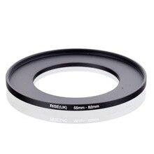 Originele RISE (UK) 55mm 82mm 55 82mm 55 te 82 Step Up Ring Filter Adapter black