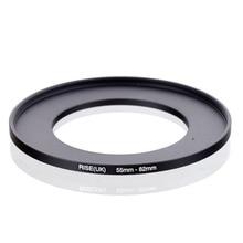 RISE original (UK) 55mm 82mm 55 82mm 55 a 82 anillo de aumento adaptador de filtro negro