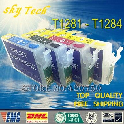 T1285 Cartucce Ricaricabili Vuote Per T1281-T1284 vestito per BX305 SX130 SX230 SX235W SX420W SX425W SX435W, ecc, con Chip ARC