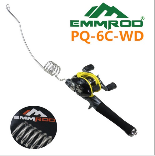 Genuine special steel wire rod PQ-6C-WD Sea rods cast fishing rod fishing supplies Rod Combo