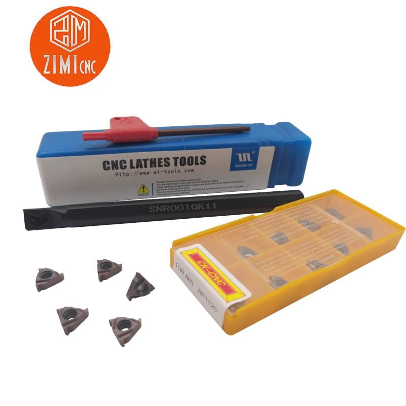 10pcs 16IR 1.5 ISO BP010 1.5mm Metric size threading inserts carbide inserts