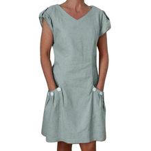 af66eb62a8a75 Popular Linen Shift Dress-Buy Cheap Linen Shift Dress lots from ...