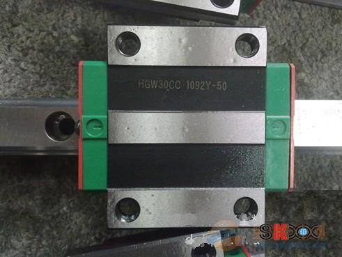 100% genuine HIWIN linear guide HGW55H block for Taiwan hiwin 100