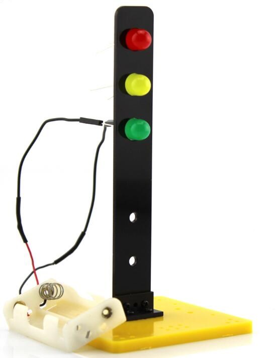 Traffic Lights Model Toys of Traffic Light Technology Small Making DIY Toy Model Accessories and Creative Inventions