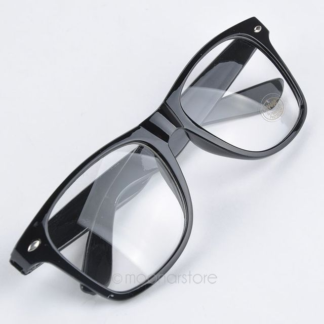 6811d490cb1 Fashion New Summer Style Candy Color Glasses Unisex Clear Lens Nerd Geek  Glasses Men Women Eyewear