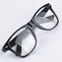 d1a420869e5d83 Moda New lato styl cukierki kolor okulary Unisex Clear Lens Nerd Geek okulary  okulary męskie i damskie YY