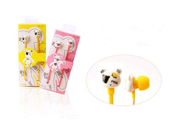 Stylish Cartoon Imagine Earphone Capatible with Smart phones Good Gift for Grils and Children a-036