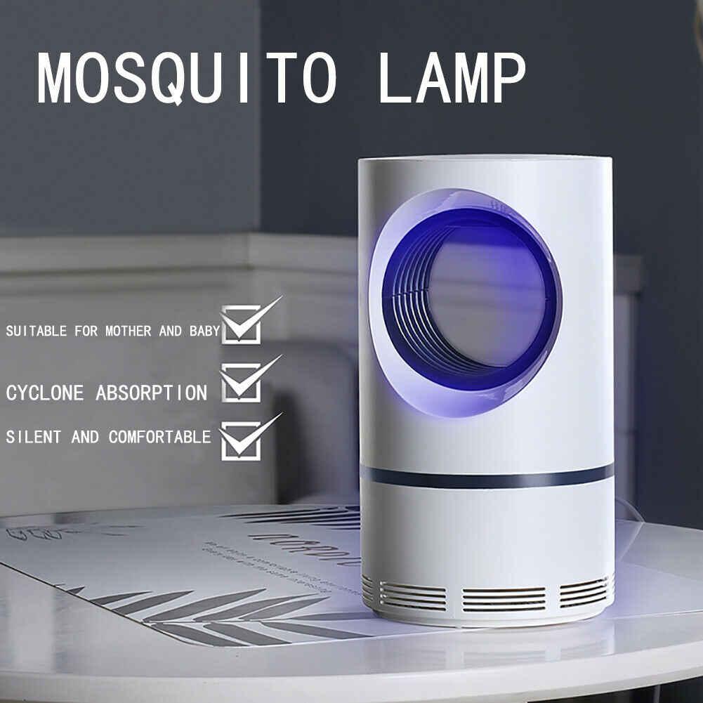 Прямая поставка светодиодный LED москитная убийца ошибка Zapper Radiationless Mute лампы Фотокатализ уничтожитель насекомых и комаров для дома туалетные комплект
