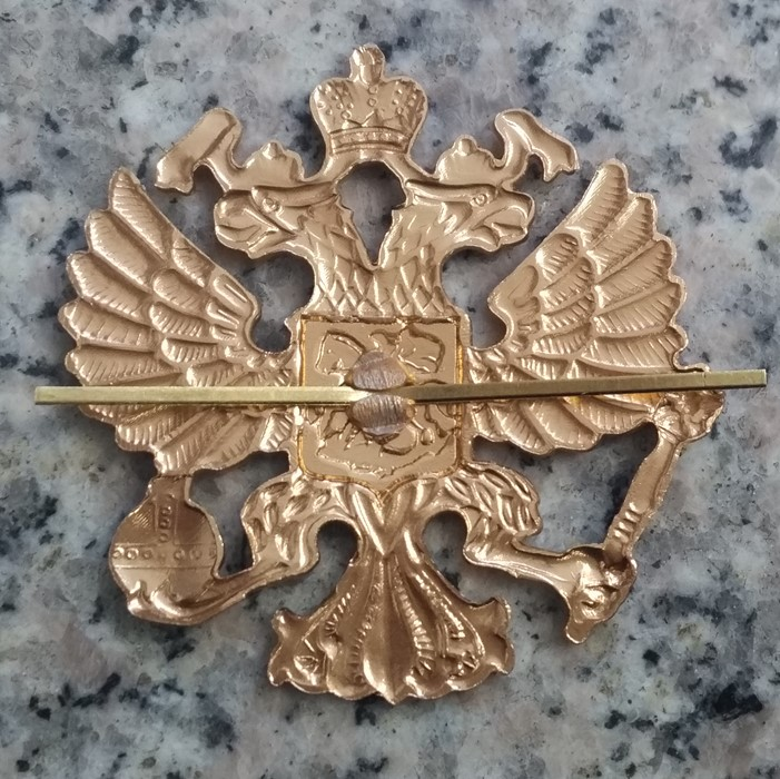 Russia Coin Tie Tack Lapel Pin Suit Eagle Moscow Red Army Crest Seal Military Navy Police Russian \u0420\u043e\u0441\u0441\u0438\u044f \u042e\u0432\u0435\u043b\u0438\u0440\u043d\u044b\u0435 \u0438\u0437\u0434\u0435\u043b\u0438\u044f \u041b\u0430\u0446\u043