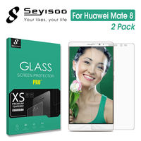 [2 Pack] Original Seyisoo Premium Highly Responsive Safety 2.5D Tempered Glass Screen Protector For Huawei Mate 8 Ascend Mate8